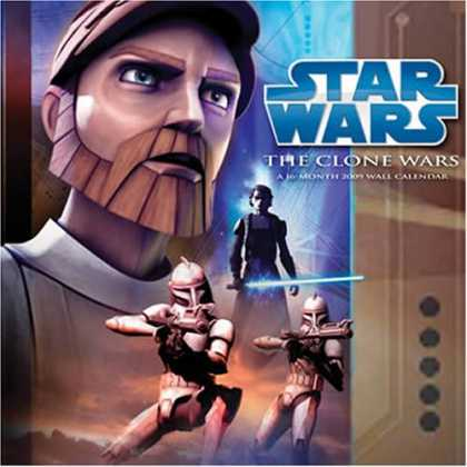 Star Wars Books - Star Wars: The Clone Wars 2009 Calendar 994078