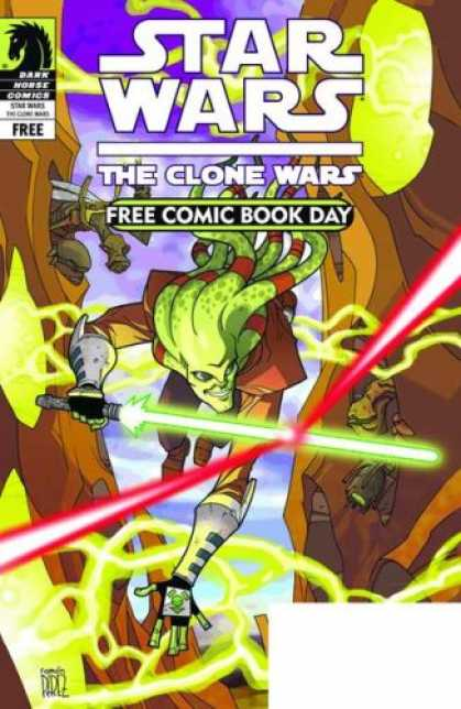 Star Wars Books - FCBD 2009 STAR WARS CLONE WARS