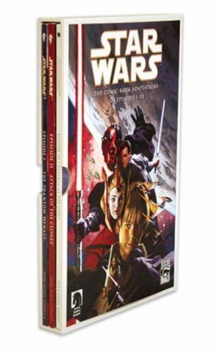 Star Wars Books - Star Wars: Episodes I - III Slipcased Graphic Novel Set (Star Wars (Dark Horse))
