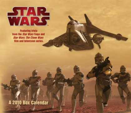 Star Wars Books - STAR WARS - The Saga 2010 BOXED CALENDAR