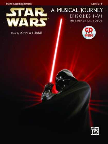 Star Wars Books - Star Wars Instrumental Solos (Movies I-VI): Piano Acc. (Book & CD) (Pop Instrume