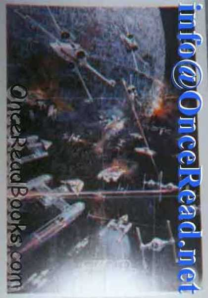 Star Wars Books - Star Wars Poster [2t-541] Painted Scene of the Final Battle to Destroy the Death