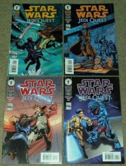 Star Wars Books - Star Wars Jedi Quest # 1, 2, 3 and 4. (The Complete Four Part Limited Series)