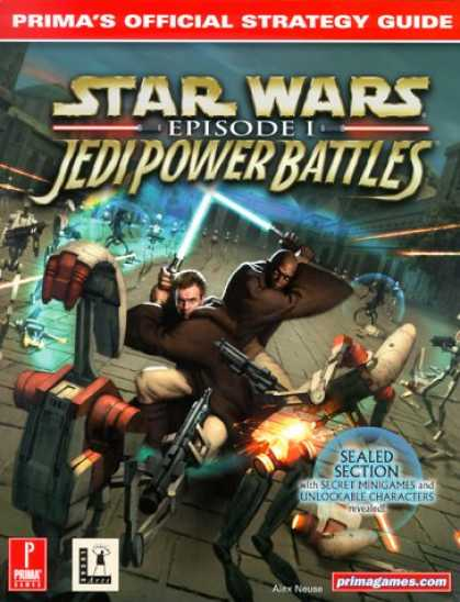 Star Wars Books - Star Wars: Episode 1 Jedi Power Battles : Prima's Official Strategy Guide