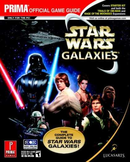 Star Wars Books - Star Wars Galaxies: The Complete Guide (Prima Official Game Guide)