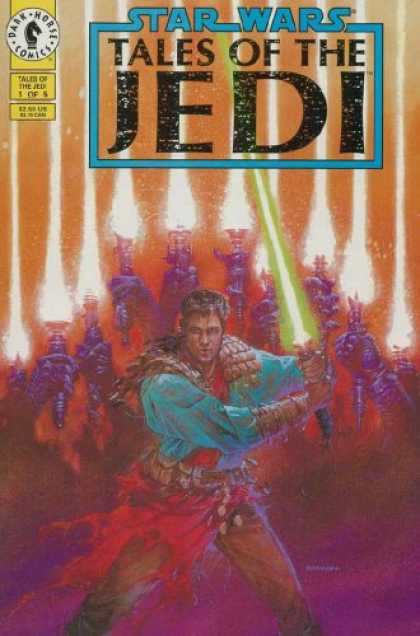 Star Wars Books - STAR WARS TALES OF THE JEDI #1-5 complete series (STAR WARS TALES OF THE JEDI (1
