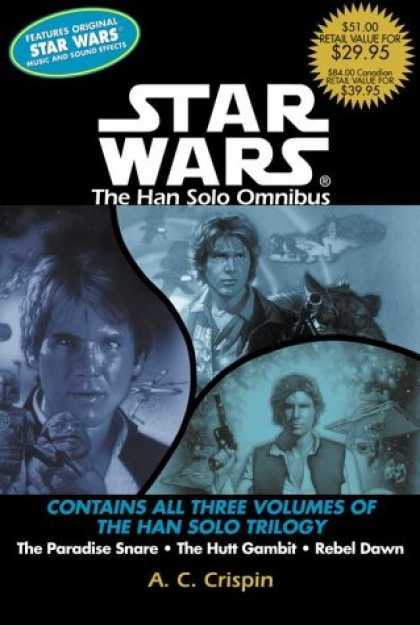 Star Wars Books - Star Wars: The Han Solo Omnibus: The Paradise Snare, The Hutt Gambit, Rebel Dawn