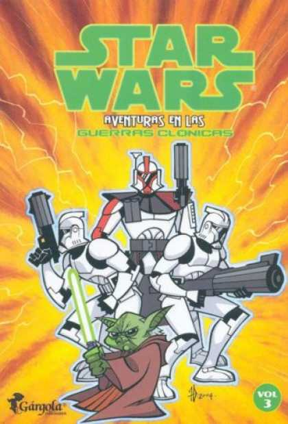 Star Wars Books - Star Wars: Aventuras en las Guerras Clonicas: Volume 3 / Star Wars: Clone Wars A