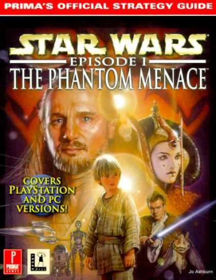 Star Wars Books - Star Wars: Episode I--The Phantom Menace (Prima's Official Strategy Guide)