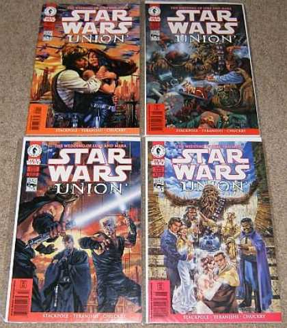 Star Wars Books - Star Wars Union # 1, 2, 3 and 4. (The Complete Four Part Limited Series!)
