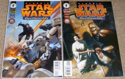 Star Wars Books - Classic Star Wars Devilworlds #1 and 2. (The Complete Two Part Limited Series!)