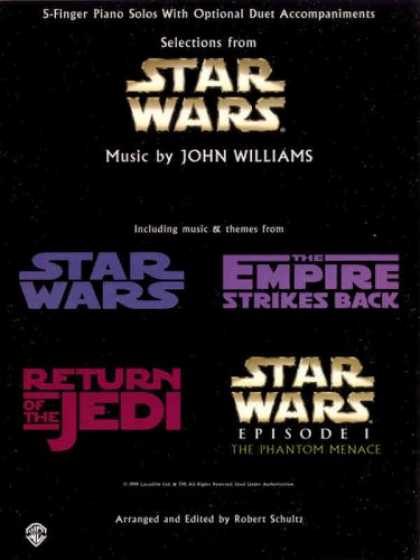 Star Wars Books - Selections from Star Wars