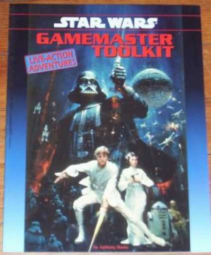 Star Wars Books - Star Wars Gamemaster Toolkit (Live-Action Adventures)