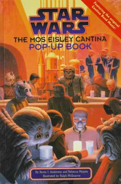 Star Wars Books - Star Wars: The Mos Eisley Cantina Pop-Up Book