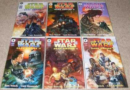 Star Wars Books - Star Wars Dark Empire II # 1, 2, 3, 4, 5 and 6. (The Complete Six Part Limited S