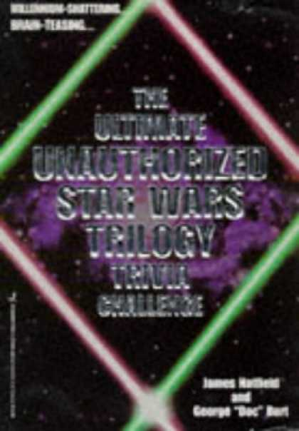 Star Wars Books - The Ultimate Unauthorized Star Wars Trilogy Trivia Challenge