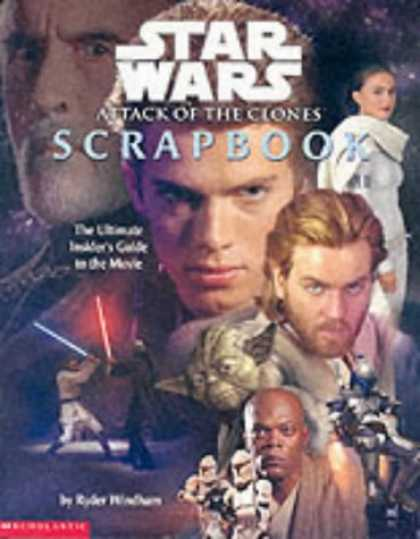 "Star Wars Books - "" Episode II Star Wars "" Movie Scrapbook ( "" Episode II Star Wars "" )"