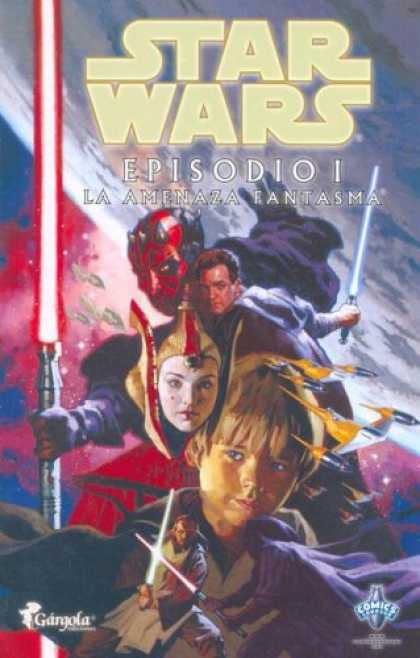 Star Wars Books - Amenaza Fantasma, La - Star Wars Episodio I (Spanish Edition)