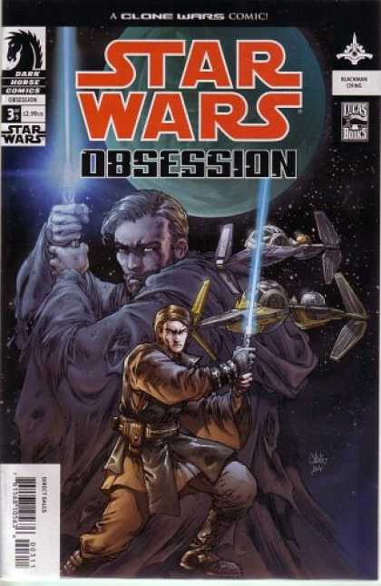 Star Wars Books - Star Wars: Obsession, #3 (Comic Book)