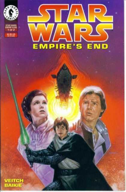Star Wars Books - Star Wars - Empire's End #1 : Triumph of the Empire (Dark Horse Comics)