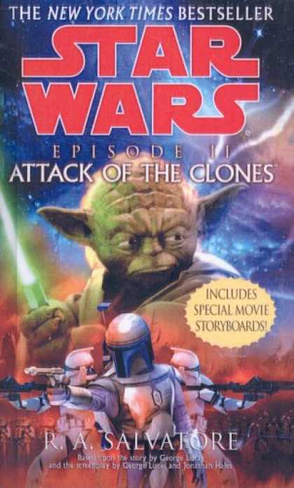 Star Wars Books - Star Wars: Episode 2: Attack of the Clones (Classic Star Wars)