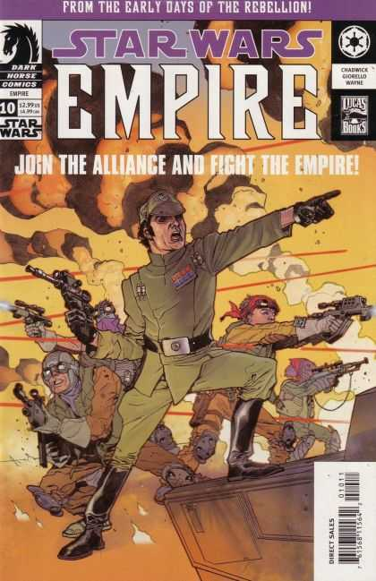 Star Wars Empire 10 - Soldiers - Guns - Smoke - Fighting - Join The Alliance And Fight The Empire