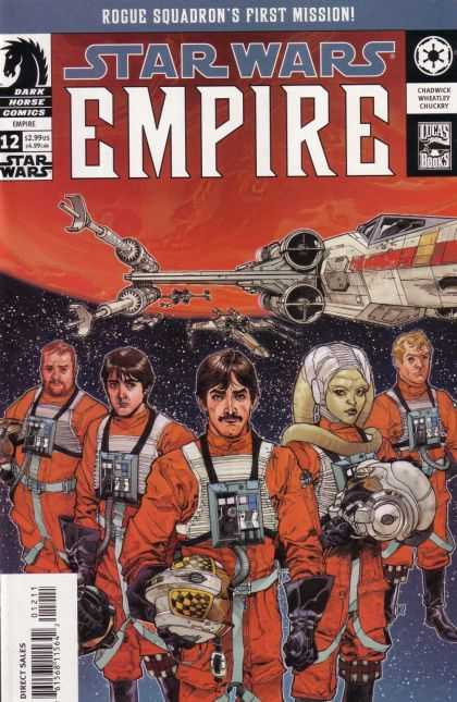 Star Wars Empire 12 - Jedis - Xwing - Space - Spaceships - Pilots
