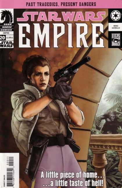 Star Wars Empire 20 - Leia - Gun - Gorilla - Forest - Woman