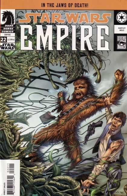Star Wars Empire 22 - Wookie - Han Solo - Chewbacca - Gun - Green Monster