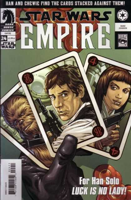 Star Wars Empire 24 - Han Solo - Chewie - Luck Is No Lady - Cards - Gambling