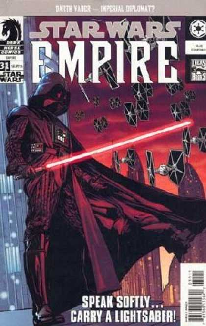 Star Wars Empire 31 - Star Wars - Darth Vader - Tie Fighters - Light Saber - Sith Lord