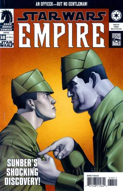 Star Wars Empire 38 - Dark Horse Comics - Lucas Books - Sunber - Officer - Green Uniform