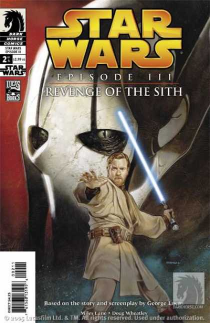 Star Wars: Revenge of the Sith 2 - Dark Horse Comics - Light Saver - George Lucas - Belt - Miles Lane