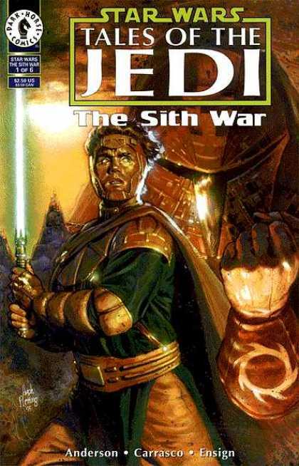Star wars sith war 1 dark horse sith war jedi star wars