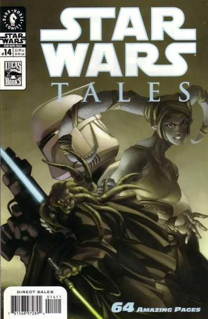 Star Wars Tales 14 - Dark Horse Comics - Lucas Books - 64 Amaizing Pages - Alien - Sword - Pat Lee