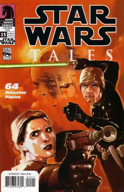 Star Wars Tales 15 - Dark Horse Comics - Blade - Amaizing Pages - Lucas Books - Direct Sales - Leinil Yu