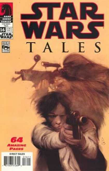 Star Wars Tales 16 - Wookie - Crossbow - Blaster - Scoundrel - Jedi - Ashley Wood