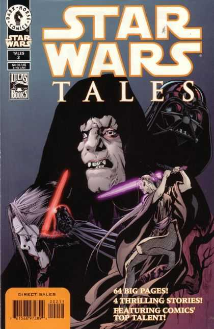Star Wars Tales 2 - Light Saber - Lucas Books - Tales 2 - 64 Big Pages - Direct Sales