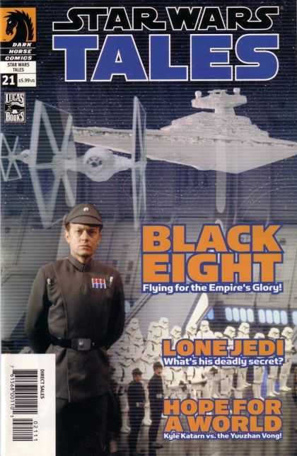 Star Wars Tales 21 - Dark Horse Comics - Black Eight - Cap - Flying For The Empires Glory - Lone Jedi