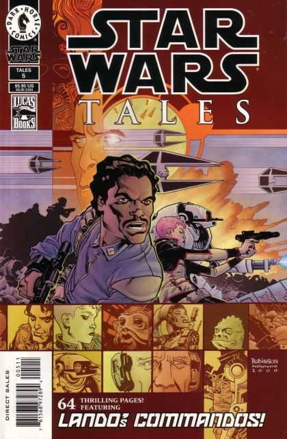 Star Wars Tales 5 - Cartoon - Man - Star Wars - Gun - Blue