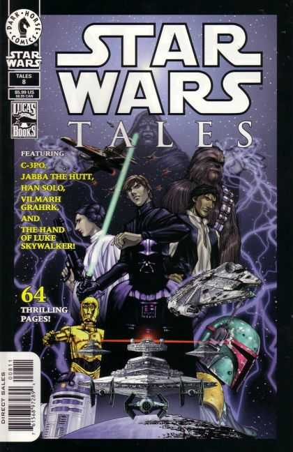 Star Wars Tales 8 - Princess Lia - Hans Solo - Darth Vader - R2 D2 - Light