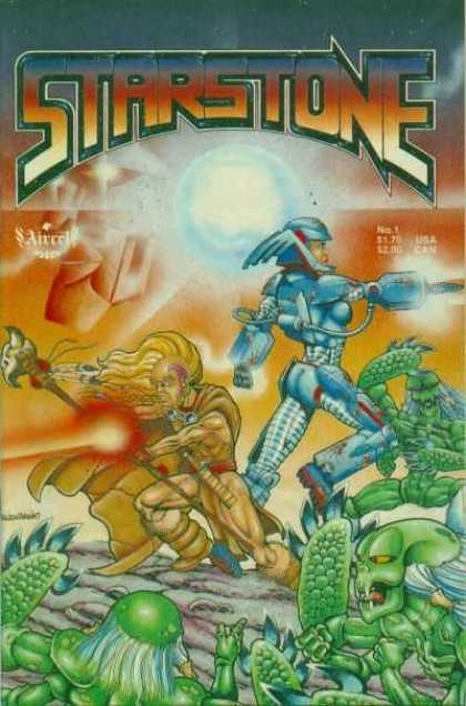 Starstone 1 - Aliens - Robots - Staff - Planet - Lasers