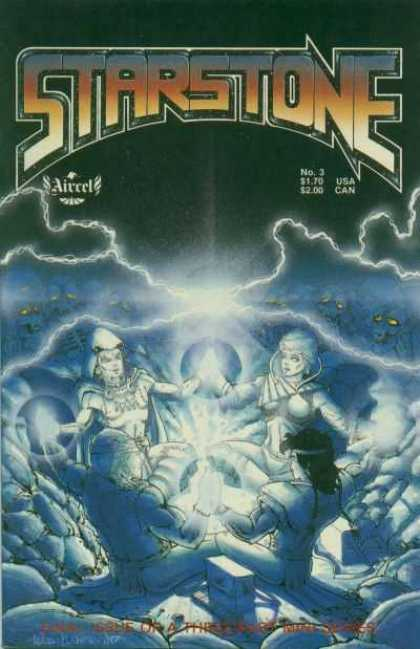 Starstone 3 - Lightning - Monsters - Power Up - Rocks - Halo