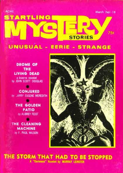Startling Mystery Stories - 8/1971