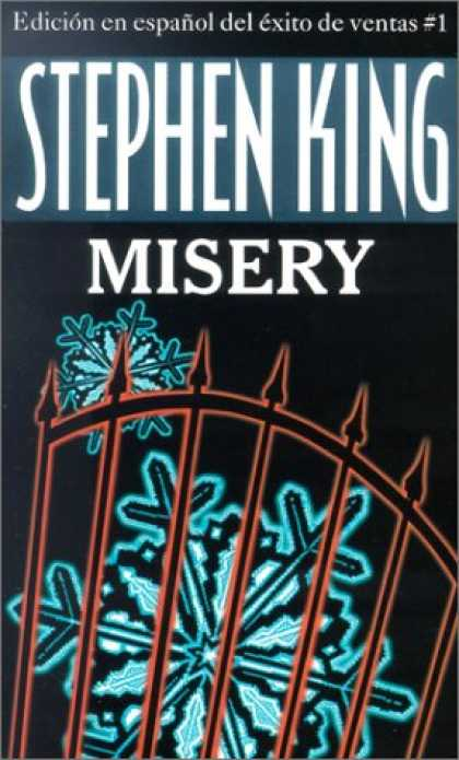 Stephen King Books - Misery, Spanish Edition