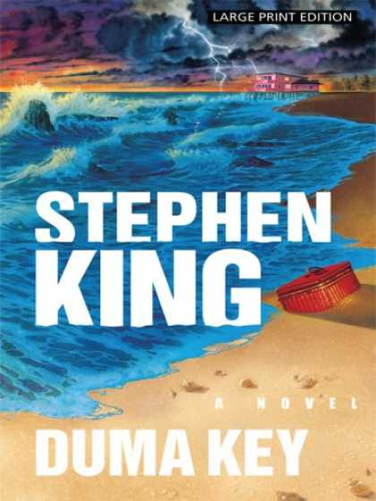 Stephen King Books - Duma Key (Large Print Press)