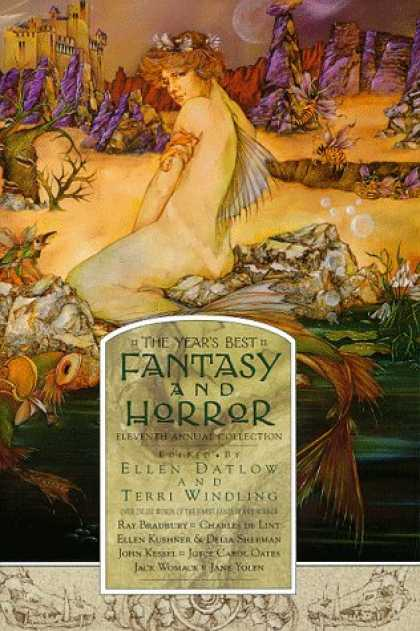 Stephen King Books - The Year's Best Fantasy and Horror: Eleventh Annual Collection (Vol 11)
