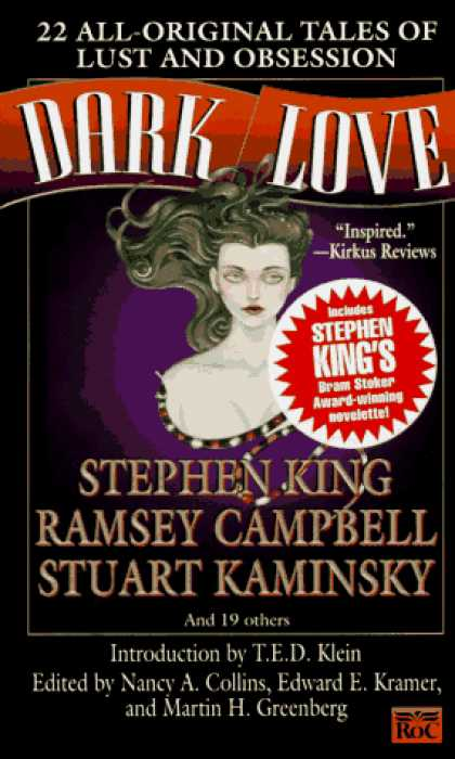 Stephen King Books - Dark Love: 22 All-Original Tales of Lust and Obsession