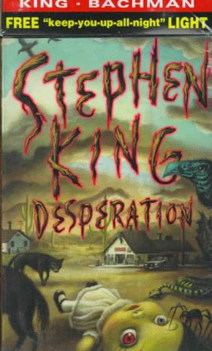 Stephen King Books - Desperation/Regulators, The 2-copy combination package