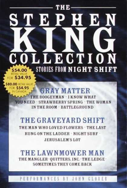 Stephen King Books - The Stephen King Value Collection: Lawnmower Man, Gray Matter, and Graveyard Shi